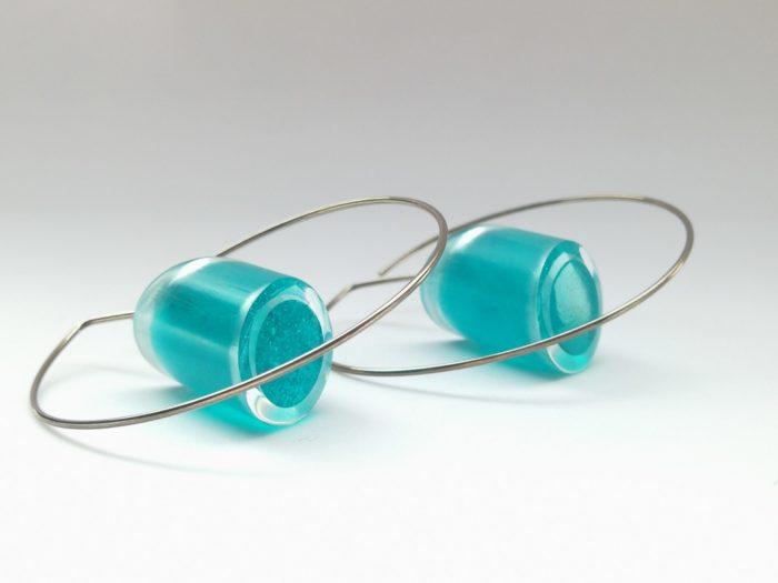 Boucles d'oreilles latitude